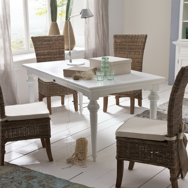 provence dining table 180 hygge home white furnitre. Black Bedroom Furniture Sets. Home Design Ideas